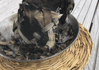 Etter brenning